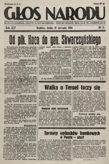 Głos Narodu. 1938, nr11