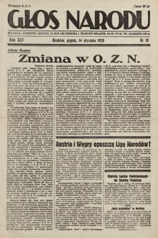 Głos Narodu. 1938, nr13