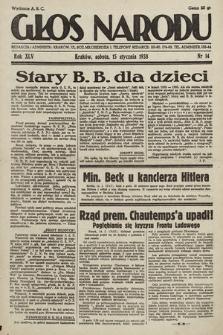 Głos Narodu. 1938, nr14