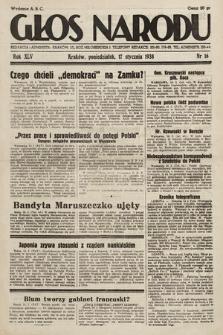 Głos Narodu. 1938, nr16