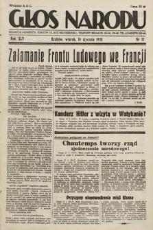 Głos Narodu. 1938, nr17