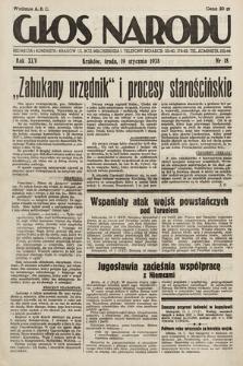 Głos Narodu. 1938, nr18