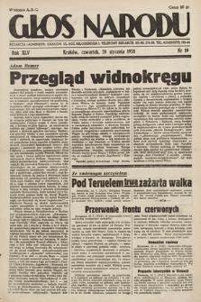 Głos Narodu. 1938, nr19
