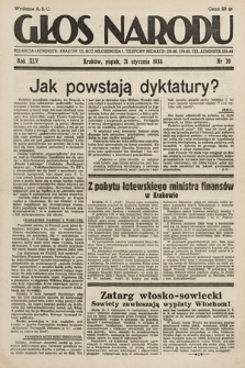 Głos Narodu. 1938, nr20