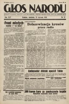 Głos Narodu. 1938, nr22