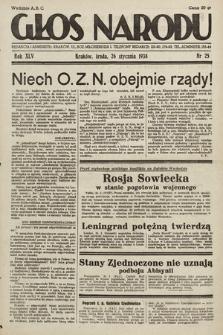 Głos Narodu. 1938, nr25