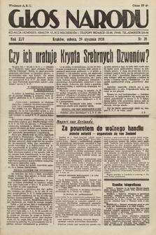 Głos Narodu. 1938, nr28