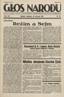 Głos Narodu. 1938, nr29