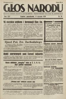 Głos Narodu. 1938, nr30