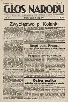 Głos Narodu. 1938, nr34