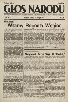 Głos Narodu. 1938, nr35