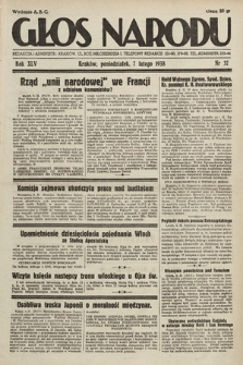 Głos Narodu. 1938, nr37