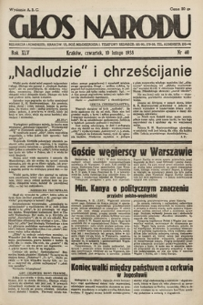 Głos Narodu. 1938, nr40