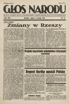 Głos Narodu. 1938, nr41