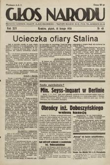 Głos Narodu. 1938, nr48