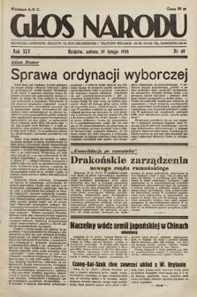 Głos Narodu. 1938, nr49