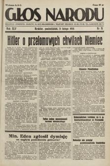 Głos Narodu. 1938, nr51