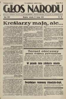 Głos Narodu. 1938, nr52