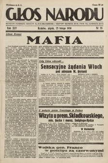 Głos Narodu. 1938, nr55