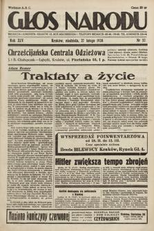 Głos Narodu. 1938, nr57