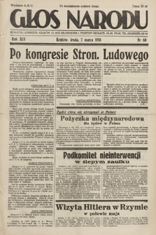 Głos Narodu. 1938, nr60