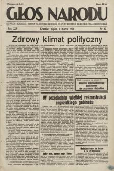 Głos Narodu. 1938, nr62