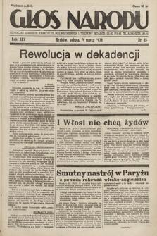 Głos Narodu. 1938, nr63