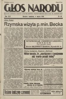 Głos Narodu. 1938, nr64