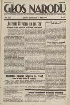 Głos Narodu. 1938, nr65