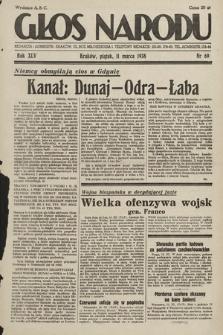 Głos Narodu. 1938, nr69