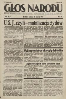 Głos Narodu. 1938, nr70