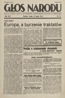 Głos Narodu. 1938, nr74