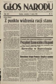 Głos Narodu. 1938, nr75