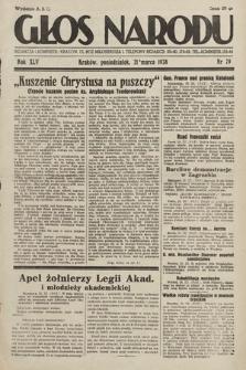 Głos Narodu. 1938, nr79