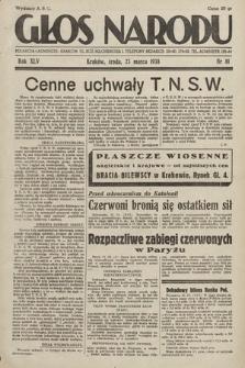 Głos Narodu. 1938, nr81
