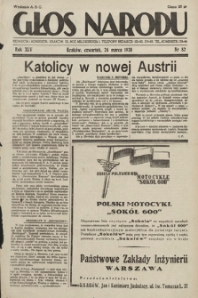 Głos Narodu. 1938, nr82
