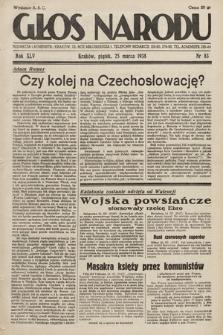 Głos Narodu. 1938, nr83