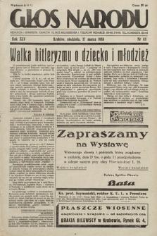 Głos Narodu. 1938, nr85