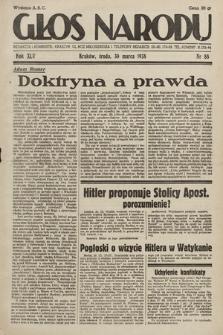 Głos Narodu. 1938, nr88
