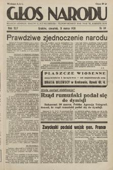 Głos Narodu. 1938, nr89