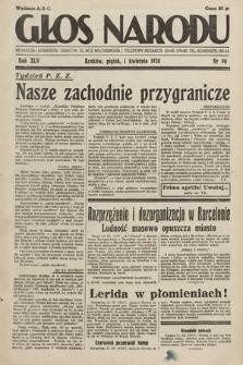 Głos Narodu. 1938, nr90