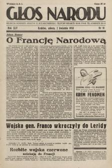 Głos Narodu. 1938, nr91