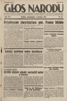 Głos Narodu. 1938, nr93