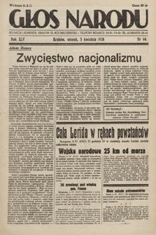 Głos Narodu. 1938, nr94