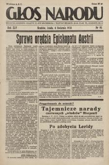Głos Narodu. 1938, nr95