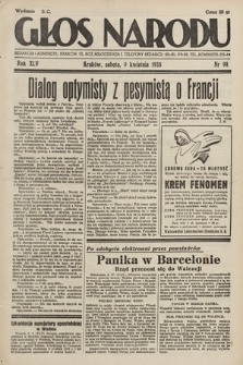 Głos Narodu. 1938, nr98