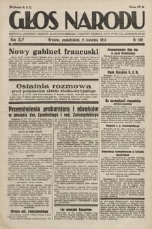 Głos Narodu. 1938, nr100