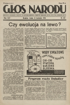 Głos Narodu. 1938, nr102