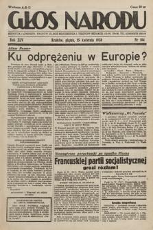 Głos Narodu. 1938, nr104