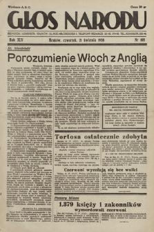 Głos Narodu. 1938, nr108